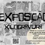 """Convite – Exposição """"Xilogravura e suas Interfaces"""""""