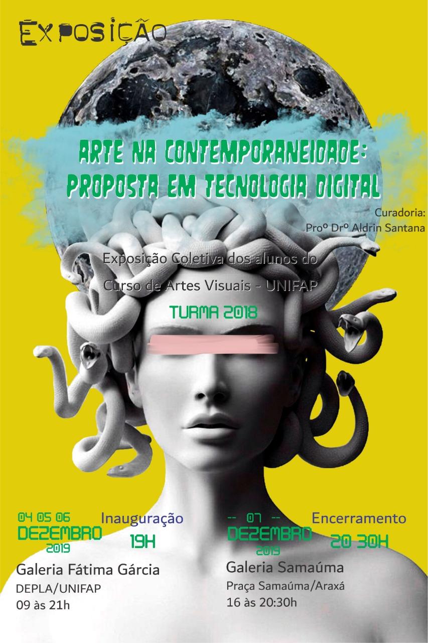 Exposição – Arte na contemporaneidade: proposta em tecnologia digital