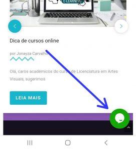 Atendimento remoto – Sistema chat online
