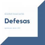 Agenda – Defesas de TCC – Janeiro | 2021