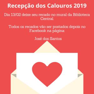 Recepção dos Calouros 2019