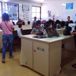 Visita da Escola Modelo Guanabara aos laboratorios de Ciências Biologicas da Unifap
