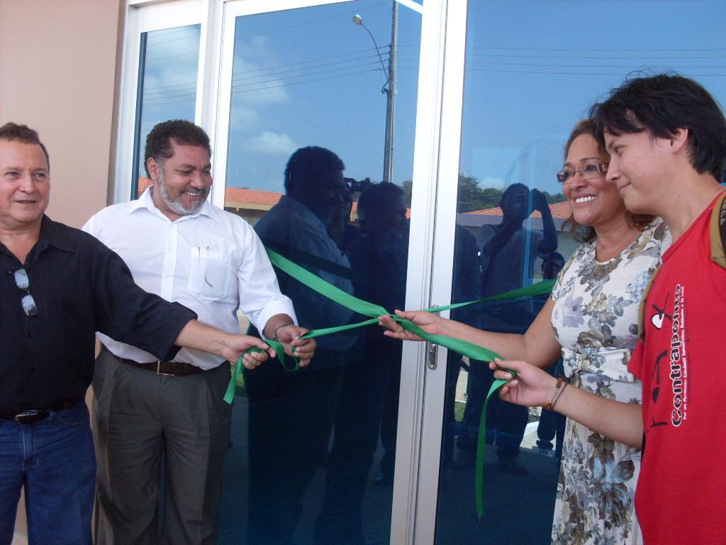 Inauguração do Restaurante Universitário da UNIFAP