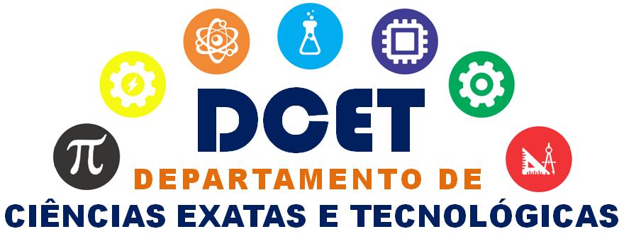 Departamento de Ciências Exatas e Tecnológicas