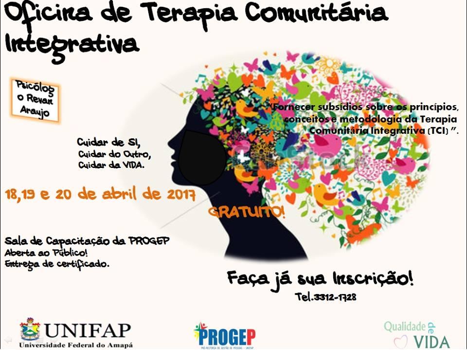 OFICINA DE TERAPIA COMUNITÁRIA INTEGRATIVA