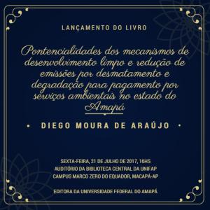 Convite - Lançamento de Livro (Editora da UNIFAP)