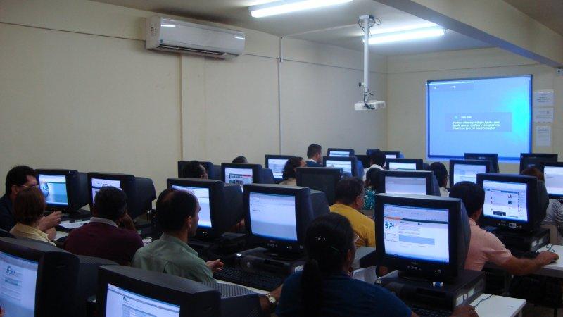 A SPU do Amapá realiza oficina de capacitação do SPIUnet
