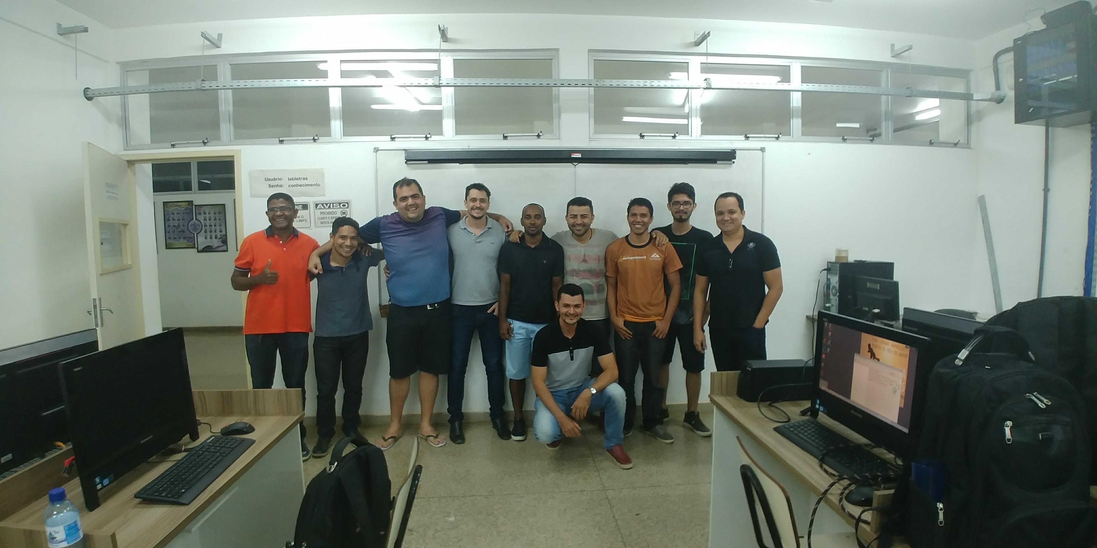 Treinamento Bacula Instituto Federal Amapá