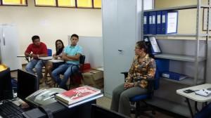 Reunião com os técnicos administrativos