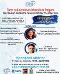 Curso de Licenciatura Intercultural Indígena – Inscrições Abertas