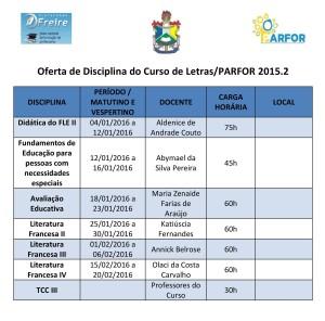 Oferta de Disciplina do Curso de Letras - 2015.2-page-001