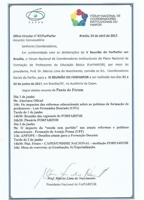 OFÍCIO CIRCULAR 07
