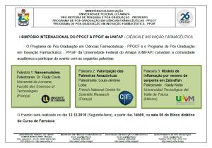I SIMPOSIO INTERNACIONAL PPGCF PPGIF_2016