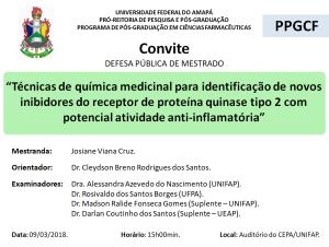 DEFESA DE DISSERTAÇÃO - 2018-03-09 15h00 - JOSIANE VIANA CRUZ