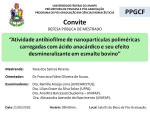 DEFESA DE DISSERTAÇÃO - 2018-05-21 09h00 - YANE DOS SANTOS PEREIRA