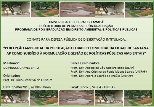 Convite Domingos