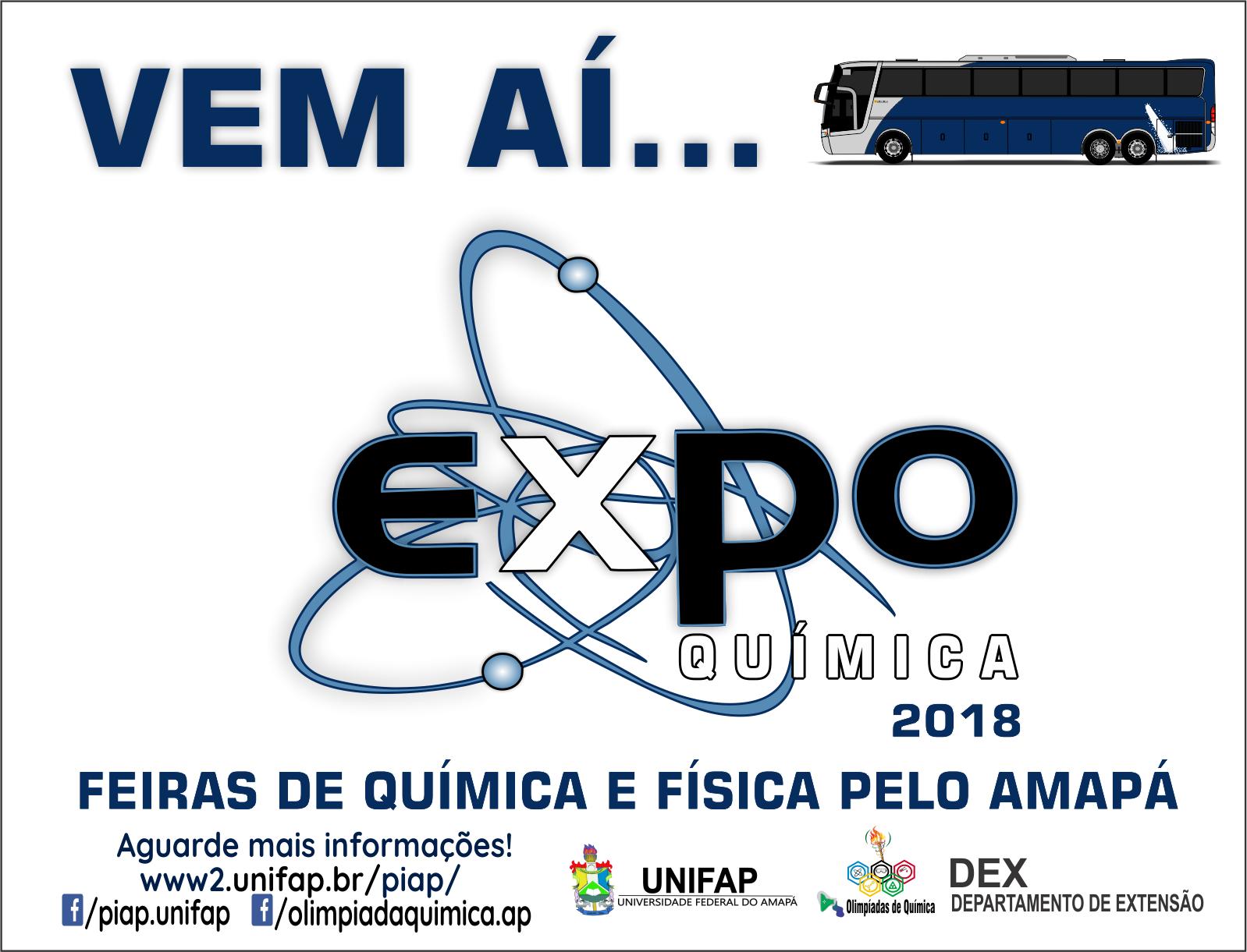 Logo ExpoQuímica - Vem aí