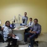 Estréia do programa com os apresentadores: jornalista Célia Souza, e os professores Judson e Ricardo Ângelo