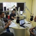 Diretor-Presidente do IEPA Augusto de Oliveira Júnior e o apresentador Nezimar Borges