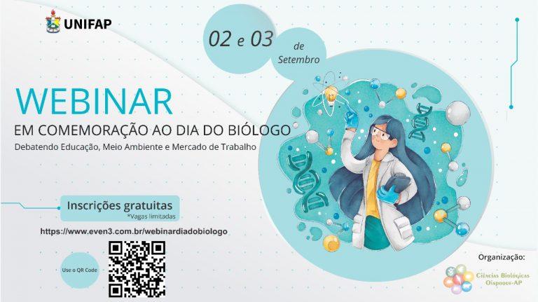 Comemoração ao Dia do Biólogo terá programação especial