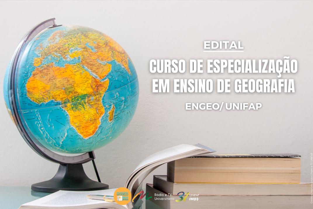 ENGEO prorroga inscrições para o processo seletivo do curso de Especialização em Ensino de Geografia