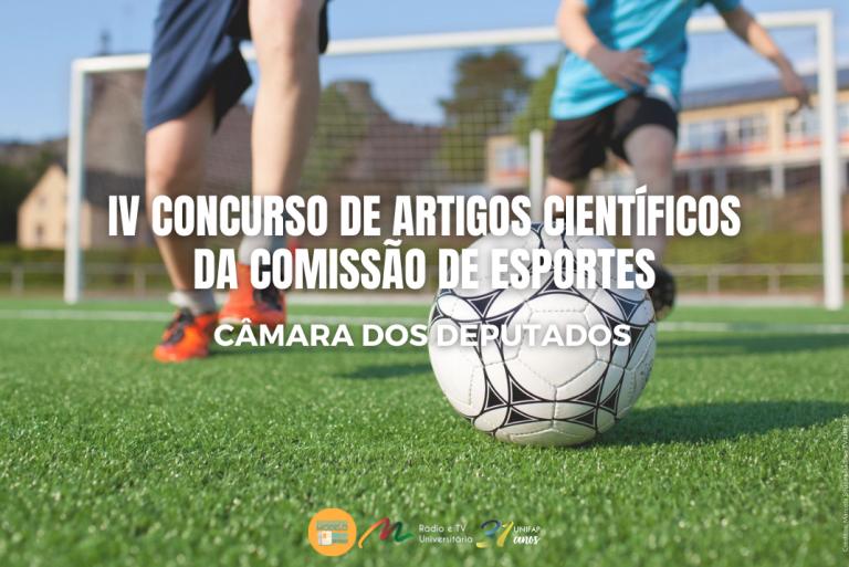 Câmara de Deputados abre inscrições para IV Concurso de Artigos Científicos da Comissão de Esportes